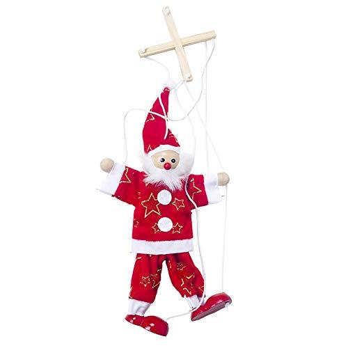franktea Hängende Schneemann Weihnachten Innovative Santa Clau Schneemann Puppe Kinderspielzeug für Weihnachtsdekoration Zubehör -
