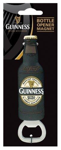 Guinness 3D Bottle Opener Magnet by Guinness (Guinness Flaschenöffner Magnet)