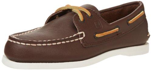 Keds Kids Sperry Kids A/O yb27284, Chaussures à lacets garçon Marron (brun)
