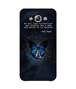Carl Saga Samsung Galaxy E7 Case