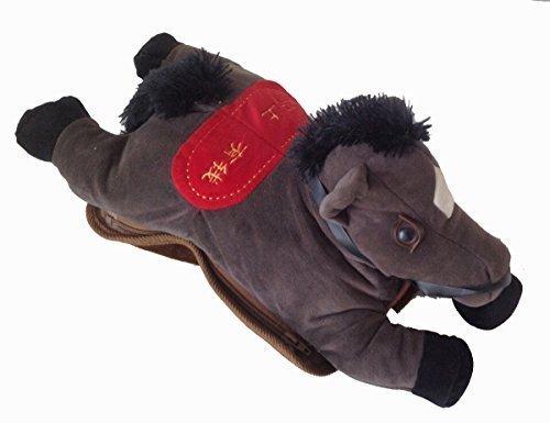 elektrisches pferd Wärmeflasche Pferd elektrische Wärmflasche Wärmkissen elektrisch (braun)
