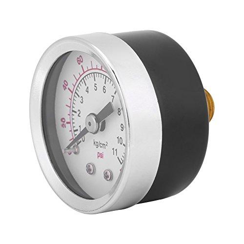 0-160PSI 1 / 8NPT Hydraulische Manometer Manometer Mini Dial Platte Wasser Flüssigkeit Öl Luftdruckmesser -
