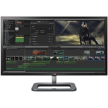 LG 31MU97-B 78,7 cm (31 Zoll) LED-Monitor (HDMI, USB, 5ms Reaktionszeit, 4096x2160 Pixel) mattschwarz/titan