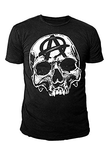 Sons of Anarchy - Herren Serien T-Shirt - Big Skull Logo Schwarz (S-XL) (S)
