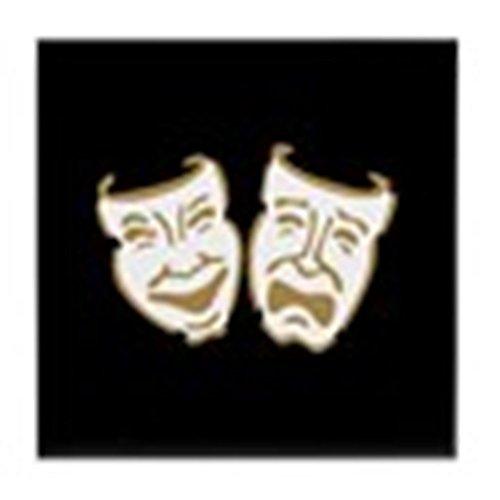 CafePress–Drama Masken–Tile Untersetzer, Drink Untersetzer, Untersetzer, -