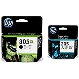 HP 305 3YM62AE 3YM60AE - Cartucho de tinta negra tricolor compatible 2710 2720 2721 2722 2723 2724 HP DeskJet Plus 4110 4120