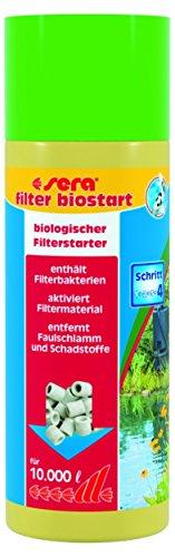 Sera filtre de bassin Biostart, 250 ml