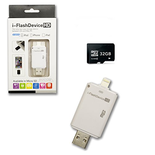 i-Flash Device HD 16GB USB Speicher Stick für OTG iOS iPod iPhone iPad MAC