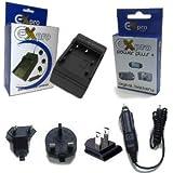 Ex-pro sony nP-bG1 nP-fG1, nPBG1 nPFG1 batterie de rechange et chargeur