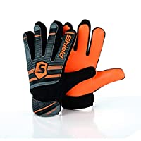 Shield Goalkeeper Goal Keeping Goalie Gloves Kids Junior Econotech
