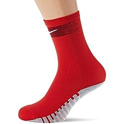 Nike Crew Sock Calcetin, Unisex Adulto, University Team Red/White, L