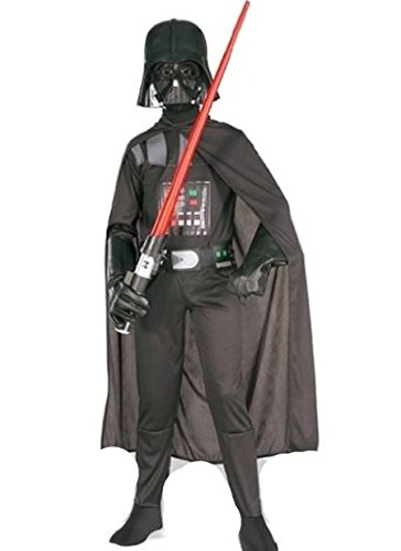 STAR WARS DARTH VADER costume età 4 - 12 anni disponibile