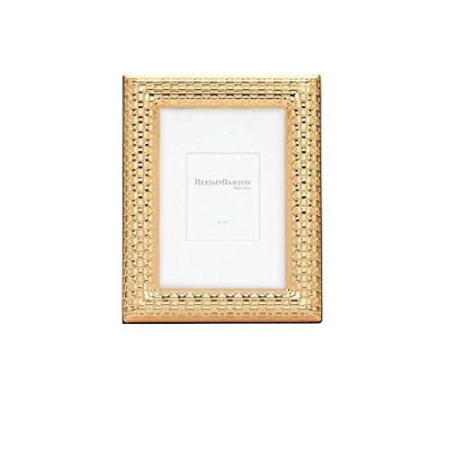 Reed & Barton Armband Satin Rahmen, gold, 10,2x 15,2cm