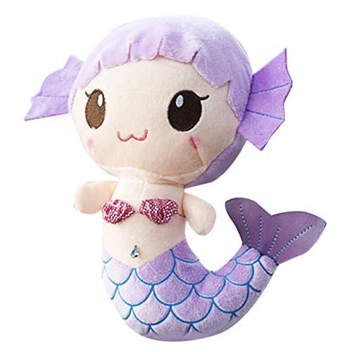 Noradtjcca Plüschtiere Geschenk Für Kinder Nette Reizende Plüsch Prinzessin PP Baumwollspielzeug Für Baby Kinder Mädchen Die Kleine Meerjungfrau Gefüllte Puppe