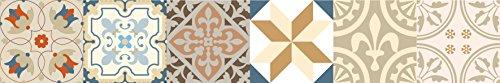 Set de 24 Azulejos Decorativos en Vinilo Adhesivo 20x20 cm Beige