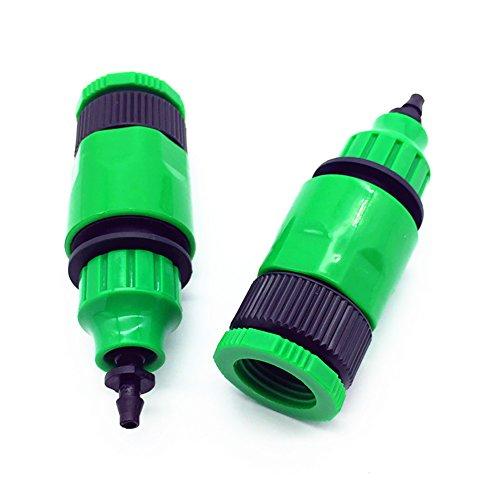 Adhere To Fly 4 Stück Nagelneue 4mm Teleskopische Gelenkgarten Wasser Schlauch Schnuller Form Schnelle Verbindungsstücke Import-Größe G1 / 2' -