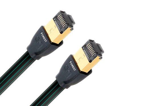 Audioquest Forest RJ/E Hochgeschwindigkeits Ethernet CAT7 Netzwerkkabel, 3.00m (Audioquest Rj E)