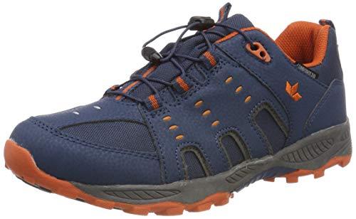 Lico Unisex-Kinder Apachi Trekking- & Wanderhalbschuhe, Blau Marine/Orange, 39 EU