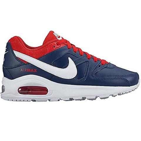 Nike Herren Air Max Command Flex Ltr Gs Laufschuhe, Azul (Azul (Midnight Navy/White-University Red)), 40 EU