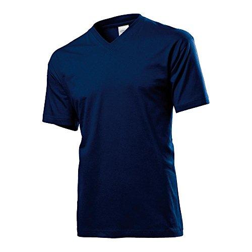 Stedman - T-Shirt mit V-Ausschnitt Scarlet Red