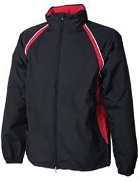 Finden & Hales Waterproof / Breathable Performance Jacket - Black/Red - XL