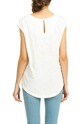 Desigual - MARBELLA, T-shirt da donna bianco (Wei  (Algodn 1015))