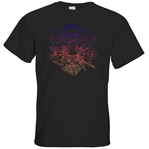 getshirts - Black Pants Official Merchandise - T-Shirt - T&B Cover Outline Black