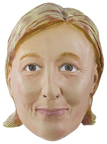 Unbekannt P 'tit Clown 20434Maske Erwachsene Latex Integralhelm Marine Le Pen, Einheitsgröße