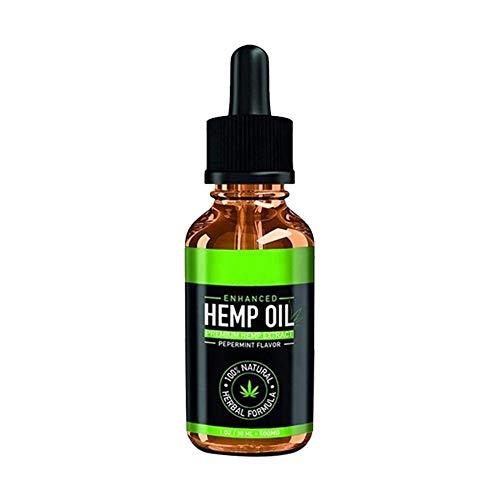 Persiverney Pure Hanfsamenöl Körpermassage Ätherisches Öl Verbessern Schlafentlastung Stress Gesichtspflege Sesam Essenz (30 ML) -