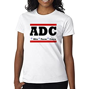 Gamer Quote ADC Kite Farm Carry Women' s Shirt Custom Made T-Shirt