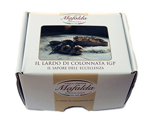 Box Mafalda con 300 gr. di Lardo di Colonnata IGP + opuscolo descrittivo