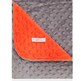 pirulos 64005105–Decke doppelseitig, 80x 110, Design Dots, Farbe rot