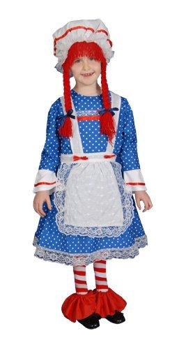 Ann Andy Kostüm Und - Dress Up America Mädchen Deluxe Stoffpuppe Kostüm Set