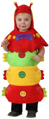 ATOSA 8422259161035 8422259161035-Verkleidung Wurm, Baby, Größe, Unisex-Kinder, Mehrfarbig, 12-24 Monate