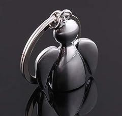 Idea Regalo - YOIL Vale la pena acquistare Portachiavi con portachiavi in argento con angelo custode portachiavi
