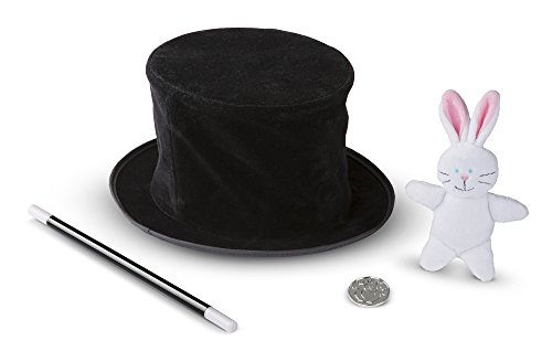Melissa & doug- cappello magico espandibile con trucchi per illusionisti, 14042