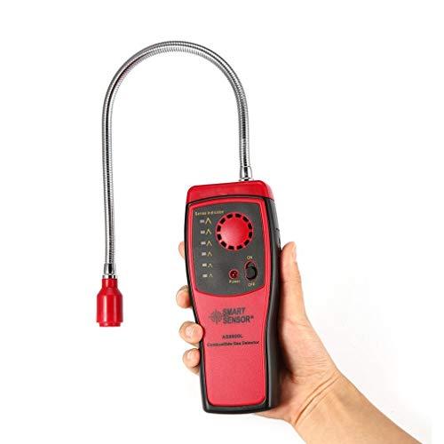 Detektor für brennbares Gas Methan natürlichen Gas-Leck-Prüfvorrichtung Alarm Tragbarer