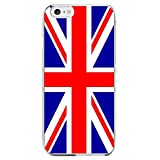 Shot Case - Coque Silicone IPHONE 6/6S Plus Drapeau Royaume-Uni UK Angleterre Anglais...