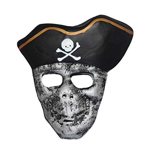 Kostüm Zum Beängstigend Verkauf - DYHOZZ Halloween Kostüm Maske Cosplay Kostüm/Verfallende Zombie Maske