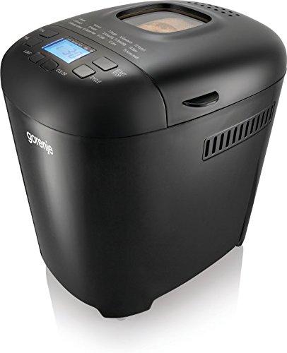 Gorenje BM900BKC Negro 550W - Panificadora (Negro, Masa, LCD, 550 W, 218 mm, 292 mm)