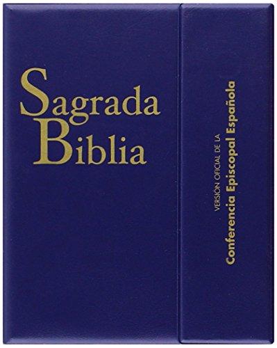 Sagrada Biblia (ed. bolsillo - con estuche): Versión oficial de la Conferencia Episcopal Española (EDICIONES BÍBLICAS)