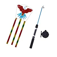 Balain Classic Toys Games Models fishing rod kite - eagle