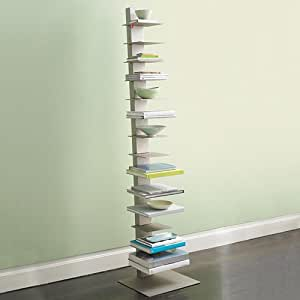 Libreria bookcase sapiens cm white for Sedie design libreria sapiens