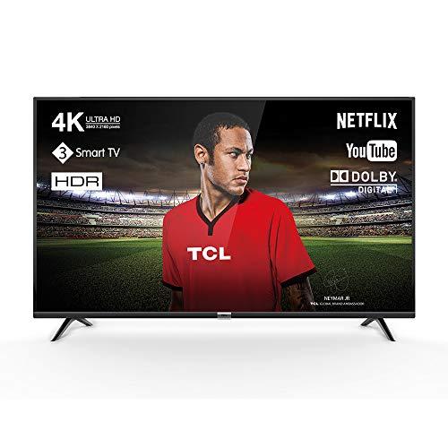 TCL 50DP602 - Televisor de 50'' UHD (Smart TV, Netflix, USB, Ethernet LAN, WiFi,...