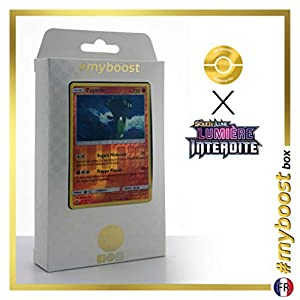 Zygarde 72/131 Holo Reverse - #myboost X Soleil & Lune 6 Lumière Interdite - Box de 10 Cartas Pokémon Francés