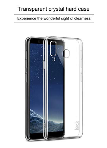 Clorox Samsung Galaxy a8 Star Back Cover Plain Rubber Back Cover for Samsung Galaxy A8 Star (Transparent)