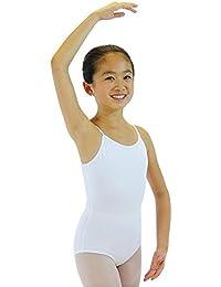 danzcue Niño Algodón de ballet maillot de tirantes