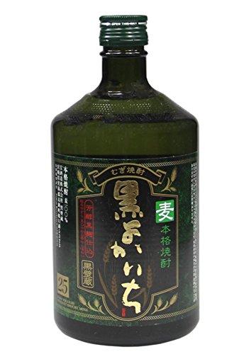[ 700ml ] KURO YOKAICHI MUGI SHOCHU japanische Spirituose aus Gerste 25% vol.