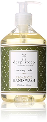 Olio Dargan lavaggio a mano, Rosemary - Menta, 17,6 FL oz (520 ml) - Steep (520 Menta)