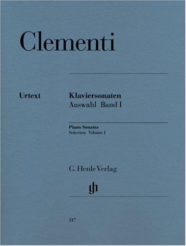 Sonates Volume 1 (1768-1785) - Piano